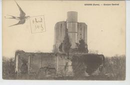 GISORS - Donjon Central - Gisors
