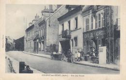 10 - Nogent Sur Seine (Aube) - Rue Des Fossés - Café De L'Agriculture - Side-car - Moto - Nogent-sur-Seine