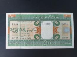 MAURITANIE 500 OUGUIYA 2002.VF+ - Mauritania