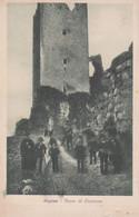 1922-Frosinone Arpino Torre Di Cicerone, Viaggiata - Frosinone