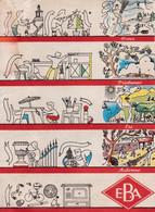 E / Protèges Cahiers E B A (N° 1) Peux Ordinaire Mais A été Mouillé - Book Covers
