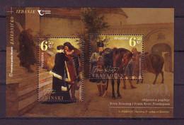 Croatia 2021 350 Th Anniversary Of The Death Of Petar Zrinski And Fran Krsto Frankopan Block MNH - Croazia