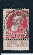 OCB 74   Afstempeling AVERBODE - COBA 10 - 1905 Breiter Bart