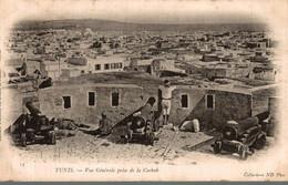 TUNISIE TUNIS VUE GENERALE PRISE DE LA CASBAH - Tunisia