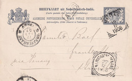 INDES NEERLANDAISES 1906 ENTIER POSTAL/GANZSACHE/POSTAL STATIONARY CARTE DE MEDAN - Netherlands Indies