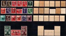 ITALIA VENEZIA GIULIA - AMGVG - 1945 - IMPERIALE E DEMOCRATICA - SERIE COMPLETA - MNH - Mint/hinged