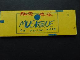 Carnet N°. 2376-C8 Liberté De Delacroix à 2,20 X 10 Faites De La Musique - Freimarke