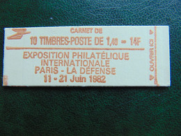 Carnet N°. 2102-C5 Sabine à 1,40 X 10 - Freimarke
