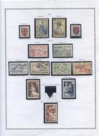 Refalbi0205/// ANNEE 1953....complète  Neuf* Avec éventuellement Des Timbres Oblitérés - Unused Stamps
