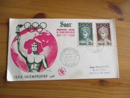 Jeux Olympiques Olympics Games Saar  Melbourne 1956 - Verano 1956: Melbourne