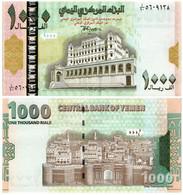 YEMEN 1000 RIALS 1998 P 32 - UNC - Yemen