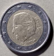 2008 -  BELGIO - MONETA IN EURO - DEL VALORE DI 2,00  EURO  -  USATA - - Belgien