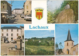 CPM De LACHAUX (63) –  Multivues. Editions Combier, Mâcon (Cim). - Altri Comuni