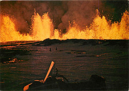 Islande - Gjâstykki, Febrùar 1981 - Volcanic éruption At Gjâstykki Near Lake Myvatn. February 1981 - Volcanologie - Volc - Iceland