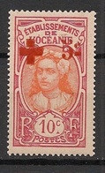 Océanie - 1915 - N°Yv. 41 - Croix Rouge - Neuf Luxe ** / MNH / Postfrisch - Unused Stamps