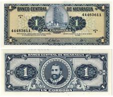 NICARAGUA 1 CORDOBA 1968 P 115 - UNC - Nicaragua