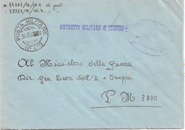 1944 POSTA MILITARE/N. 410 C.2 (30.8) Su Busta Di Servizio - Marcofilie