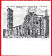 2020 - VATICANO - 900° ANNIVERSARIO DELLA BASILICA DI VOLTERRA - EMISSIONE CONGIUNTA - JOINT ISSUE. MNH - Gezamelijke Uitgaven