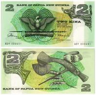 PAPUA NEW GUINEA 2 KINA 1981 P 5a - UNC - Papua New Guinea