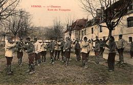 Vesoul. 11e Régiment De Chasseurs à Cheval. Ecole Des Trompettes - Regimientos