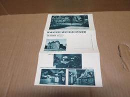 GERARDMER (88) Carte Lettre Hotel De La Paix - Gerardmer