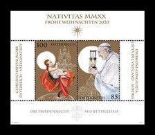 2020 - AUSTRIA / ÖSTERREICH - NATALE / CHRISTMAS - EMISSIONE CONGIUNTA / JOINT ISSUE. MNH - Gezamelijke Uitgaven