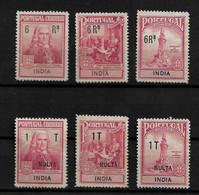 """PORTUGUESE INDIA - IMPOSTO POSTAL + IMPOSTO POSTAL PORTEADO """"MULTA"""" - MH (STB8#24) - India Portoghese"""