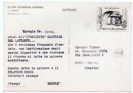 DEAR DOCTOR TYPE PUBL. PELARGON ROSSO / NESTLE' - MAROC - Unclassified