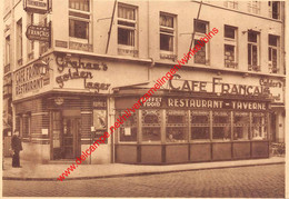 Café Restaurant Français - Place Verte Groenplaats - Antwerpen - Antwerpen
