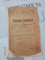 Commune De Vraignes -en-Vermandois:dimanche 13 Mai 1934,réunion-concours Des  Des Sapeurs -pompiers ,canton De Roisel - Picardie - Nord-Pas-de-Calais