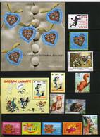 TIMBRES DE FRANCE NEUF ANNEE 2001 QUASI COMPLET AVEC BLOCS ET 4 CARNETS - 2000-2009