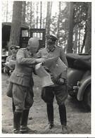 1941 -Generalfeldmarschall Gunther Von KLUGE, Original Foto 8X11,5cm.Toloschin  Operation Barbarossa - War 1939-45