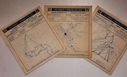 AIR FRANCE  1949 Horaires - Mondo