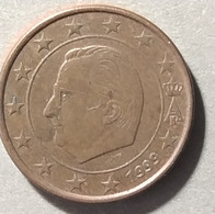 1999 -  BELGIO - MONETA IN EURO - DEL VALORE DI  1 CENTESIMI   -  USATA - - Belgien