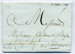 DE GAILLIAC   Lenain N°3  ( Gaillac) / Dept 77 Tarn  / 1777 / Lacombe Père Et Fils - 1701-1800: Precursores XVIII