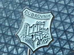 Badge Z-34-6 - DUBROVNIK, CROATIA, Emblème BLASON Ecusson Shield - Steden