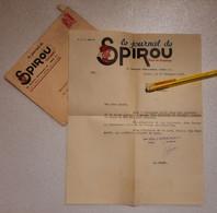 SPIROU - Courrier Du Journal 1950 - Altri