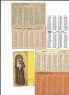 6-CALENDARI TASCABILI ANNI 50(6 PZ)VEDI DESCRIZIONE - Small : 1941-60
