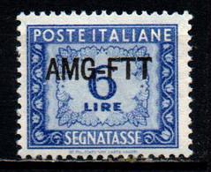 TRIESTE A - AMGFTT - 1949 - SEGNATASSE - VALORE DA 6 LIRE - MH - Revenue Stamps