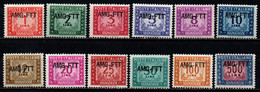 TRIESTE A - AMGFTT - 1949 - SEGNATASSE - MANCA IL 6 LIRE - MNH - Revenue Stamps