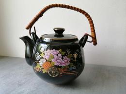 Théière Chinoise En Céramique Décor Floral - Teapots