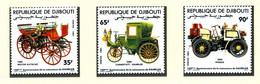 Djibouti: Histor. (Uralt-)Automobile 1984; Postfrisch/MNH - Cars