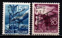 TRIESTE A - AMGFTT - 1950 - FIERA DI TRIESTE - MNH - Mint/hinged