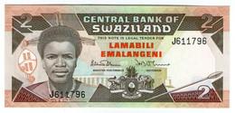 ♛ SWAZILAND - 2 Emalangeni Nd.(1987) UNC P.13 - Swaziland