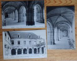 10 : Troyes - 3 CPA Cloitre De L'Ancienne Abbaye De Saint-Martin-ès-Aires / Sainte-Marie - (n°20456) - Troyes