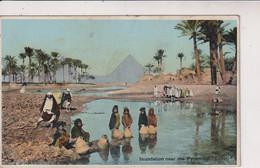 EGYPT - Inundation Near The Pyramids - VG Animation Etc - Pyramids