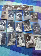 50 Oude Postkaarten Fantasie (1900-1915) - 5 - 99 Postcards