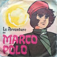 """7"""" - OLIVER ONIONS - LE AVVENTURE DI MARCO POLO - KTR 1981 - Bambini"""