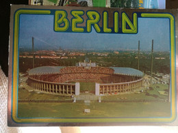 Postcard Stadium Berlin Olympiastadion Germany Stadion Stadio - Estadio - Stade - Sports - Football  Soccer - Calcio