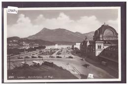 LUZERN - BAHNHOF - TB - LU Lucerne